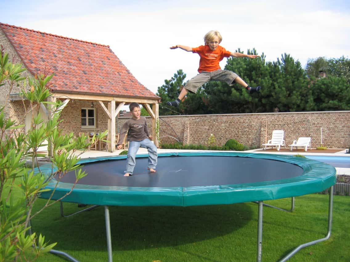 trampoline pro 430 cm kadee kopen professionele trampoline. Black Bedroom Furniture Sets. Home Design Ideas