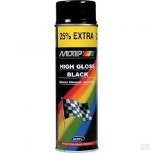 MOTIP hoogglans zwart 500 ml spuitbus