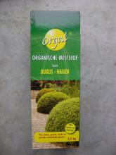 Buxus meststof 2,5 kg organische meststof voor Buxus