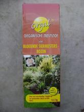 Bloeiende sierheersters en rozen mest 2,5kg langzaam vrijkomende meststof