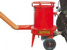 Stro verkleinmachine voor aftakas tractor PTO Het ideale bed voor het paard