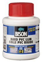 Bison Hard PVC lijm 250 ml met kwast