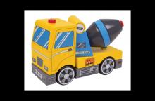 Betonmolen Max (puzzel + houten speelgoed)