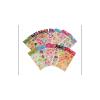 Kleurrijke glitterende stickers