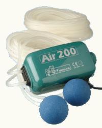 Vijver beluchtingspomp ubbink air 200 kopen outdoor for Zuurstofpomp vijver